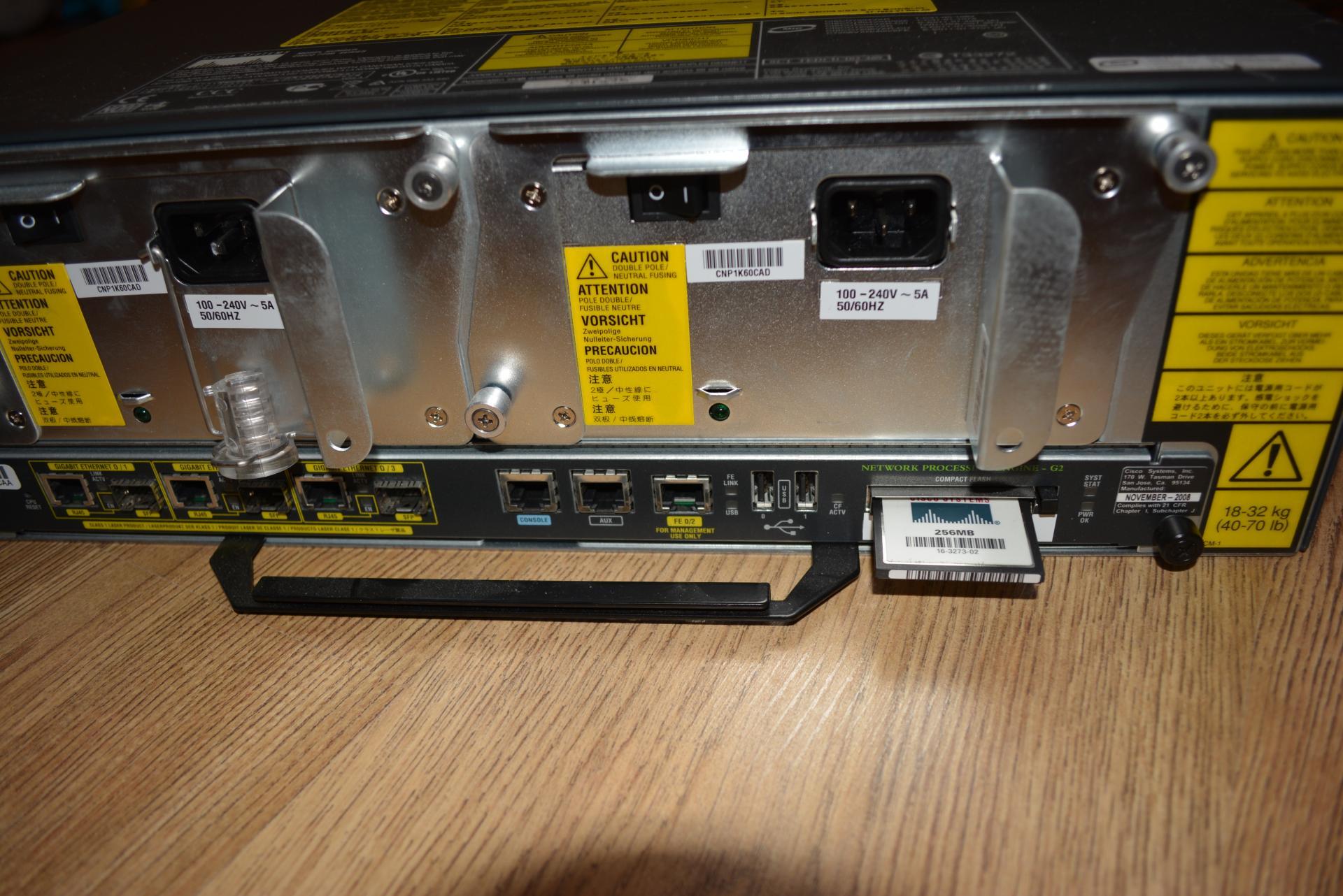 Продется маршрутизатор Cisco 7206 + NPE-G2 - Оборудование - Local